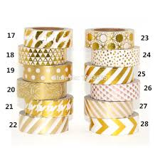 Washi Tape Gold Tape Promotion Shop For Promotional Gold Tape On Aliexpresscom