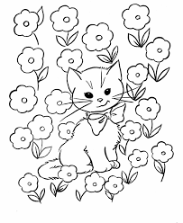 Small Picture cat color pages printable Kids Coloring Pages Free Printable