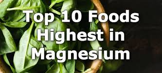 Potassium Food Chart Pdf Top 10 Foods Highest In Magnesium