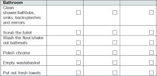 Restaurant Restroom Cleaning Checklist Schedule Template For Format ...
