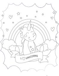 J Aime Les Licornes Imprimer Et Colorier La Licorne Licornes Et
