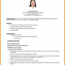 Objective On Resume Sample Resume Objective Best Of 100 Resume Objective Examples Use 64