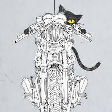 moto art. moto art - cat racer t