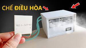 Chế quạt điều hòa từ sò nóng lạnh TEC1 - YouTube