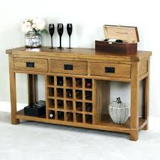 buffet with wine rack. Plain With Sideboard With Wine Racks Buffet Rack Medium Size Of Outstanding Small  Image Ideas Table Oak  And N