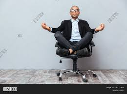 big man office chair. Amazing Big Man Office S With Handsome African Young Sitting And Meditating On Chair M