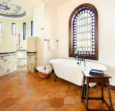 saltillo tile bathroom flooring