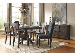 oval kitchen table set. Signature Design By Ashley Trudell7-Piece Oval Dining Table Set Kitchen E