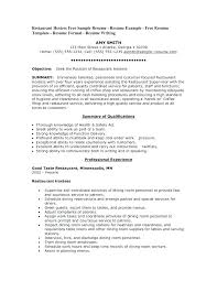 Template Of Resume Magnificent Sample Resume For Hostess Resume For Hostess Hostess Resume Examples