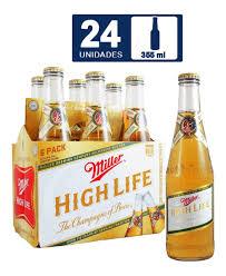 Six Tecate Light Oxxo Caja Cerveza Miller High Life Canastilla 355 Ml 4 Six Pack