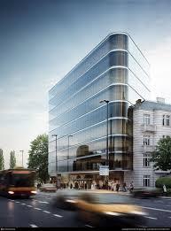 office building designs. office building in warsaw by piotr truszczynski designs