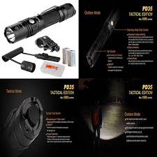 Fenix Weapon Light Tactical Weapon Light Bundle Fenix Pd35tac Pd35 Xp L 1000