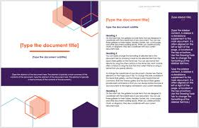 Microsoft Office Word Cover Page Templates Cover Page Title Design