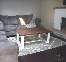 give your living room some new life with this diy modern farmhouse coffee table free