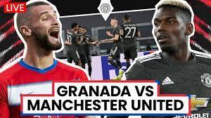 Granada v Manchester United   Europa League   LIVE Stream Watchalong -  YouTube
