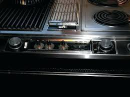 jenn air electric range parts. jenn air range top with griddle stove replacement parts full size image downdraft electric white