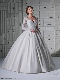 wedding dress with sleeves ball gown naf dresses