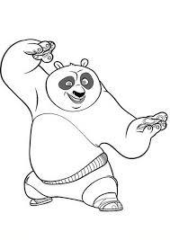 Kleurplaten Kung Fu Panda 31