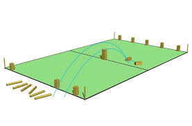 Lawn Game With Wooden Blocks Play KUBB The Game The Vikings Played With The Skulls Of Their 54