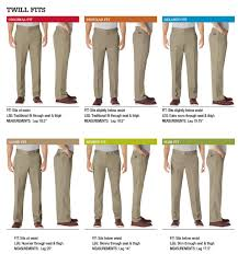 Dickies Jeans Size Chart Mens Fit Guide How To Measure Mens Clothing Dickies
