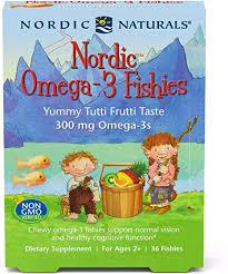 <b>Nordic</b> Naturals <b>Omega 3 Fishies</b> - <b>Omega</b>-<b>3</b> Gummy With Essential ...