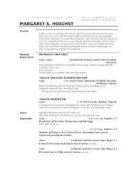 Personal Resume Template Sample Professional Resume
