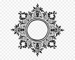 black filigree frame wedding digital invitation black and white 1362476