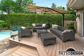 Patio Design Design Construction And Installation Of Trex Terraces
