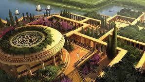 Висячие сады Семирамиды второе чудо света висячие сады семирамиды