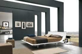 modern style bedroom. Beautiful Modern Bedroom Interior In The Modern Style  Palette Often Contains White Black  Colors And Neutral Shades With Modern Style