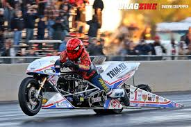 larry mcbride stuns with all time quick top fuel motorcycle run