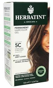 Herbatint Chart Herbatint Permanent Light Ash Chestnut 5c 4 Oz Herbatint Natural Hair Color