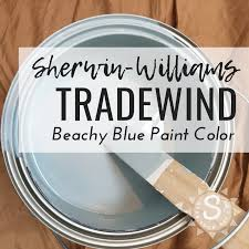 Sherwin Williams Tradewind Paint Color Seas Your Day