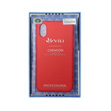 Чехол для сотового телефона <b>Vili Клип</b>-<b>кейс iPhone</b> XS, красный ...