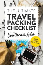 list for traveling southeast asia packing list ultimate guide on what to bring
