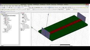 Hfss Filter Design Microstrip Line Design In Hfss 13 Part1 Use Captions Cc