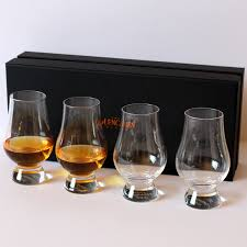 the glencairn official whisky glass set of 4