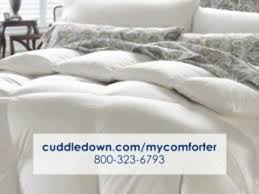 How to Choose a Comforter. Cuddledown