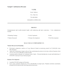 Free Combination Resume Template Word template Resume Template For Word 43