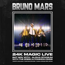 Bruno Mars 24k Magic World Tour Kwxx