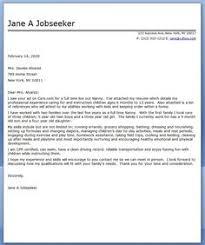 nanny cover letter sample pharmacy technician cover letter examples