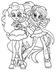 Image Result For My Little Pony Equestria Girl Coloring Pages
