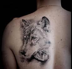 значение тату волка для девушек и мужчин