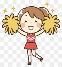 Clipart - Cheerleader Pom Poms Clipart, Transparent PNG Images Free