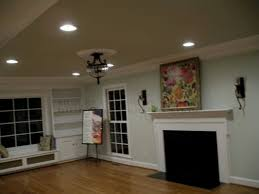 placing recessed lighting in living room. task lighting for a living room may be provided by schedule lamps, such as pharmacy-style adjustable lamps placed well-nigh reading chair or game table. placing recessed in o