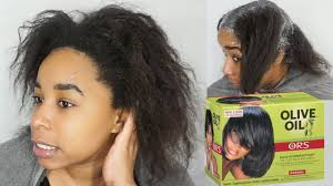ors no lye hair relaxer