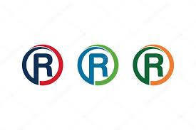Letter R Designs Stock Vector Andreasandwhite72 91865836