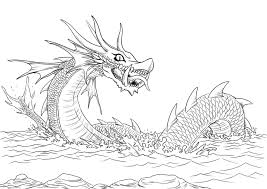 Small Picture Sea Dragons Coloring Sheets For AdultsDragonsPrintable Coloring