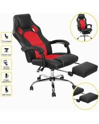 office recliner chair. Comfortable High Back Reclining Chair Can Lie Down Office Recliner Ergonomic PU Leather 360