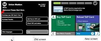 Tap Vending Machines Fascinating Metro Updating Fare Vending Machines Sheriff Fare Check Devices